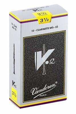 Vandoren CR6135 V12 Eb Clarinet Reeds (Strength 3.5) (Pack Of 10) Strength 3.5 • 44.99£