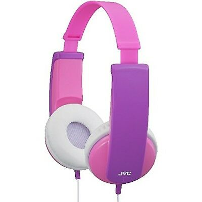JVC Tiny Phones Kids Stereo Headphones With Volume Limiter - Pink • 26.99£