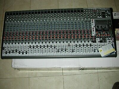 Behringer Eurodesk SX3242FX 32-channel Mixer In Original Box Barely Used Mint. • 351.24£