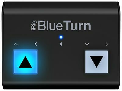 IK  Multimedia IRig BlueTurn Bluetooth Page Turner For IOS And Android • 90.99£