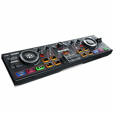 Numark DJ2GO2 - Ultra-Portable Two-Channel DJ Controller For Serato DJ Lite F... • 95.99£