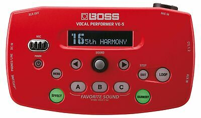 Roland VE-5 Vocal Performer Red • 253.99£