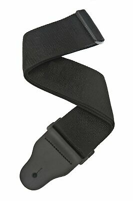 Planet Waves 3 Inch Wide Bass Guitar Strap - Black • 25.99£