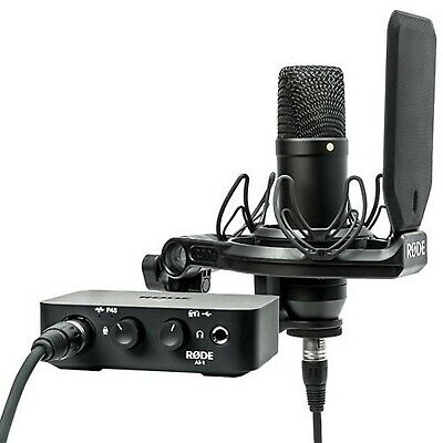 Rode AI-1 Complete Studio Kit With Audio Interface • 379.99£