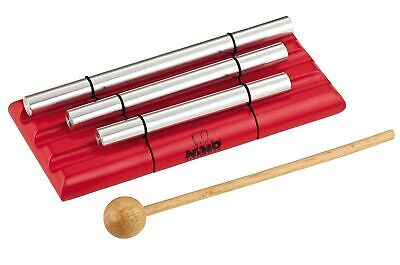 Meinl NINO580-R 3 Rows Small, Medium And Large Energy Chimes - Red • 45.99£