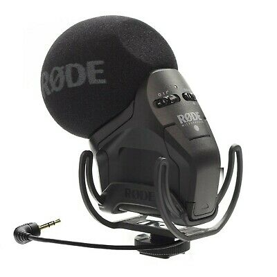 RØDE Stereo VideoMic Pro On-Camera Microphone With Rycote Shockmount • 266.99£