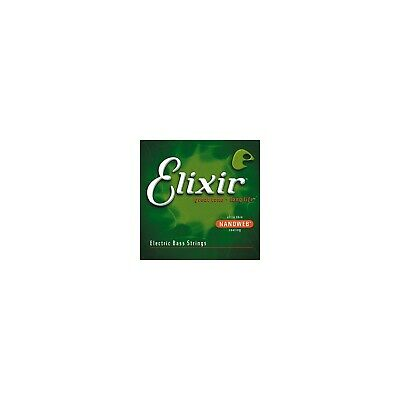 Elixir Bass Guitar Sets Ultra-Thin Nanoweb Coating Long Scale, 5 String - Med... • 81.99£