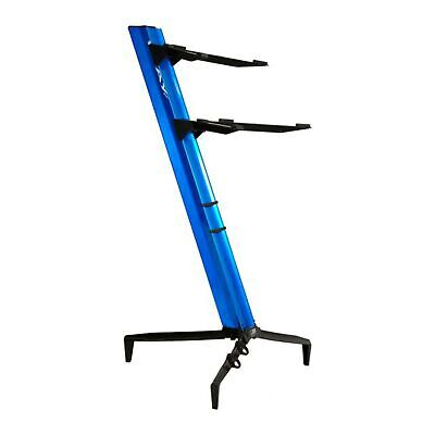STAY MUSIC Tower 2 Tier Keyboard Stand - Blue • 294.99£