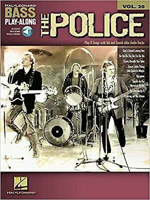 Bass Play-Along Volume 20 The Police Bass Guitar Tab Book/Cd (Hal Leonard Bas... • 27.99£