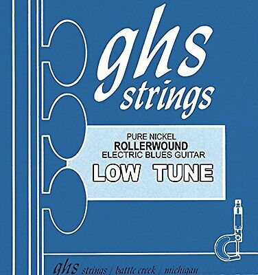 GHS NICKEL ROCKERS Rollerwound String Set For Electric Guitar - Low Tune - 13... • 23.99£