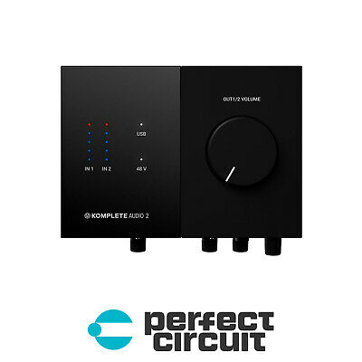 Native Instruments Komplete Audio 2 Audio INTERFACE - NEW - PERFECT CIRCUIT • 100.58£