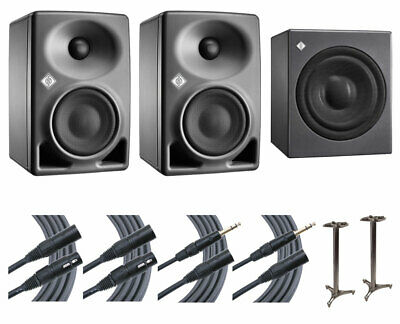 2x Neumann KH 80 KH80 DSP Speakers + KH 750 Sub + Ultimate 45  Stands + Mogami • 2,027.78£
