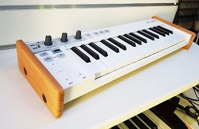 Arturia Keystep Solid Oak End Cheeks Stand From Synths And Wood • 39£