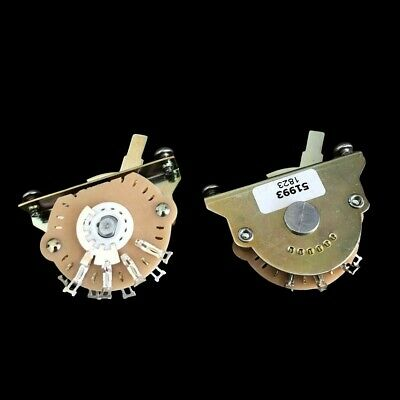 Genuine Oak Grigsby 5-way Selector Switch Fender USA Telecaster - Stratocaster • 10.85£