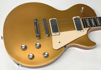 Gibson Les Paul Deluxe Light Gold Top 2019 With Hard Case New • 1,920.15£