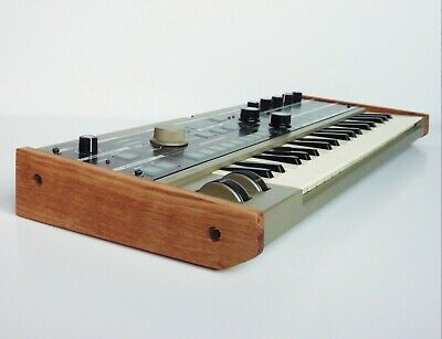 Korg Microkorg Solid Oak Replacement End Cheeks From Synths And Wood • 36£