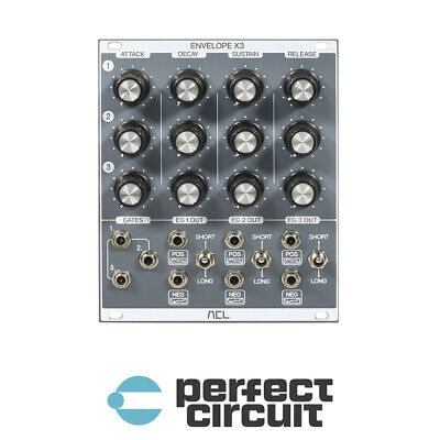 ACL Envelope X3 Triple ADSR EURORACK - NEW - PERFECT CIRCUIT • 360.95£