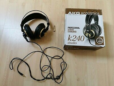 AKG K240 Professional Studio Headphones With Box. • 60£