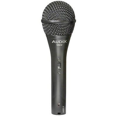 Audix OM2S Dynamic Vocal Microphone With Switch , New! • 92.67£
