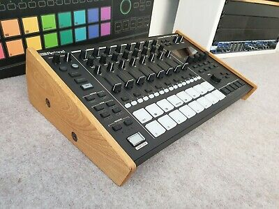 Precision Machined Roland Mc707 Solid Oak Stand From Synths And Wood  • 49.99£