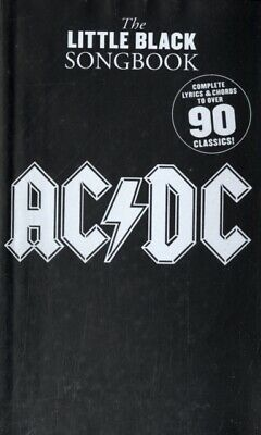 Little Black Songbook: Ac/dc (Paperback) Highly Rated EBay Seller Great Prices • 5.99£