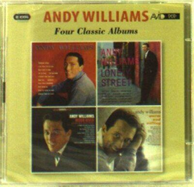 Williams,Andy - Four Classic Albums - Williams,Andy CD S1VG The Cheap Fast Free • 7.08£