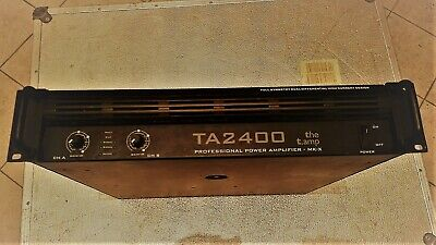 The T. Amp TA 2400 Professional Power Amplifier - MK - X • 202.60£
