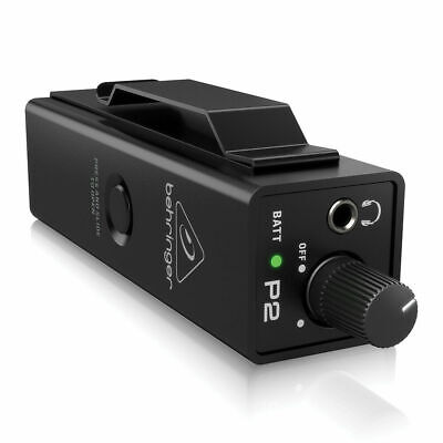 Behringer Powerplay P2 Personal In-Ear Monitor Amplifier IEM Band Studio • 43£