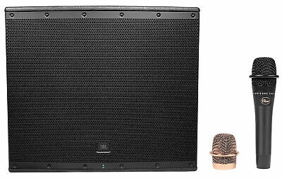 JBL Pro EON618S 18  1000w Active Powered Subwoofer W/Bluetooth+Blue Microphone • 655.62£