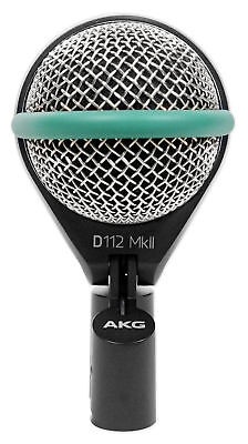 AKG D112 MKII Professional Dynamic Kick Drum Bass Guitar Microphone Mic • 121.86£