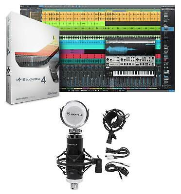 Presonus Studio One 4 Pro Upgrade From Pro/Producer Version 1/2/3 To 4 + Mic • 117.98£