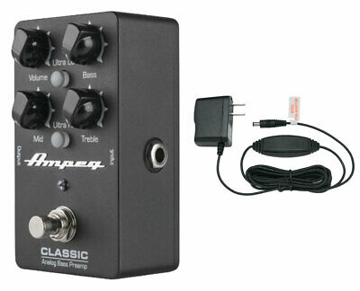 Ampeg Classic DI Analog Bass Preamp + Power Supply • 105.01£
