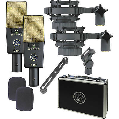 AKG C414 XLII Condenser Microphone  Matched Stereo Pair B-STOCK • 1,403.02£