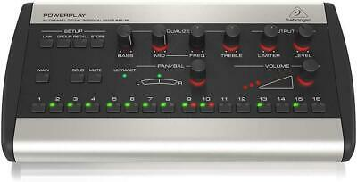 Behringer Powerplay P16-M Personal Mixer New In Box • 297.73£