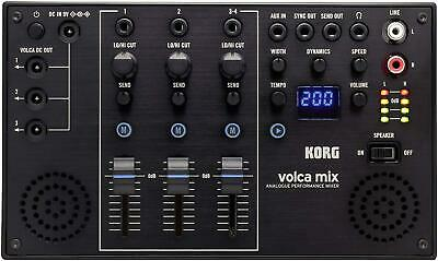KORG 4 Channel Analog Mixer Volca Mix Built-in Stereo Speaker New In Box • 142.42£