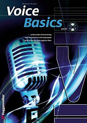 Voice Basics.by Braun  New 9783802408489 Fast Free Shipping Pamphlet*= • 10.95£