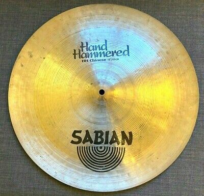 Sabian HH 18  China Chinese Cymbal - Very Good Condition - Hand Hammered • 199.99£