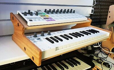 Solid Oak Arturia Keystep  Stand With Additional Shelf From Synths And Wood • 69£