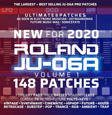 148 ROLAND JU-06A ULTIMATE PATCHES • #1 Bestseller • Easy USB Install • LISTEN • 16.99£