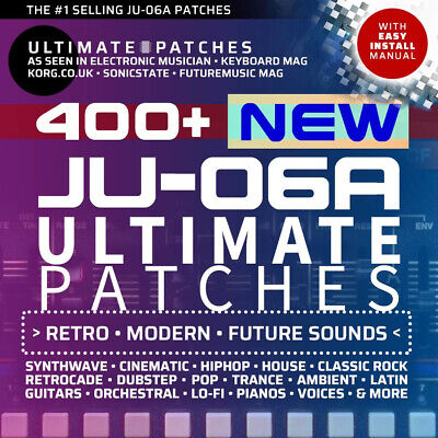 444 *NEW* ROLAND JU-06A PRESETS / PATCHES • Best Seller • Easy Install • LISTEN