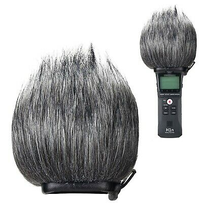YOUSHARES Zoom H1n Recorder Furry Outdoor Windscreen Muff, Pop Filter/Wind Co... • 27.99£