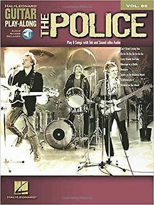 Guitar Play-Along Volume 85 The Police Tab Gtr Book/Cd (Hal Leonard Guitar Pl... • 24.99£