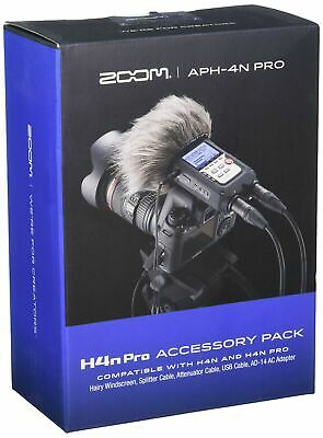 Zoom APH-4nPro Accessory Pack For H4n Pro Earplug, 6 Cm, Black • 133.99£