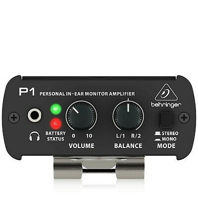 Behringer POWERPLAY P1 Personal In-Ear Monitor Amplifier • 56.99£