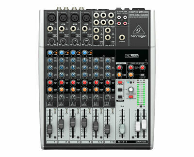 Behringer 1204USB 12-Input 2/2-Bus Mixer With XENYX Mic Preamps & Compressors • 175.43£