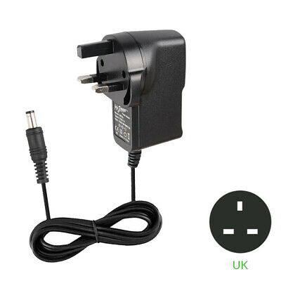 UK Power Supply Adapter For BOSS RC-300 Loop Station Looper RV-500 Reverb Pedals • 4.74£