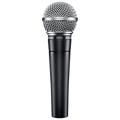 Shure SM58 Dynamic Vocal Microphone • 71.62£