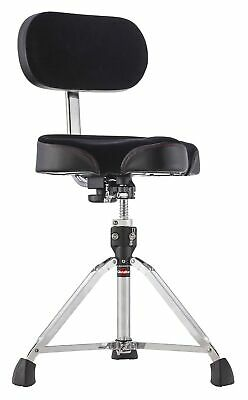Gibraltar GI806944 Moto Drum Throne With Backrest • 228.99£