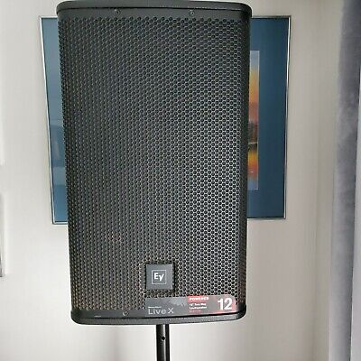 3 Pieces-2ELX EV112 And 1ELX EV118p Subpowered Speakers (stands Not Included) • 557.46£