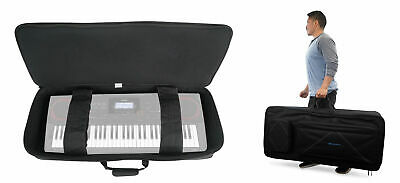 Rockville 61 Key Padded Rigid Durable Keyboard Gig Bag Case For CASIO CT-X3000 • 54.48£